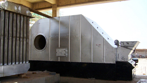 Heat Stove for Biomass Pelletizing Plant