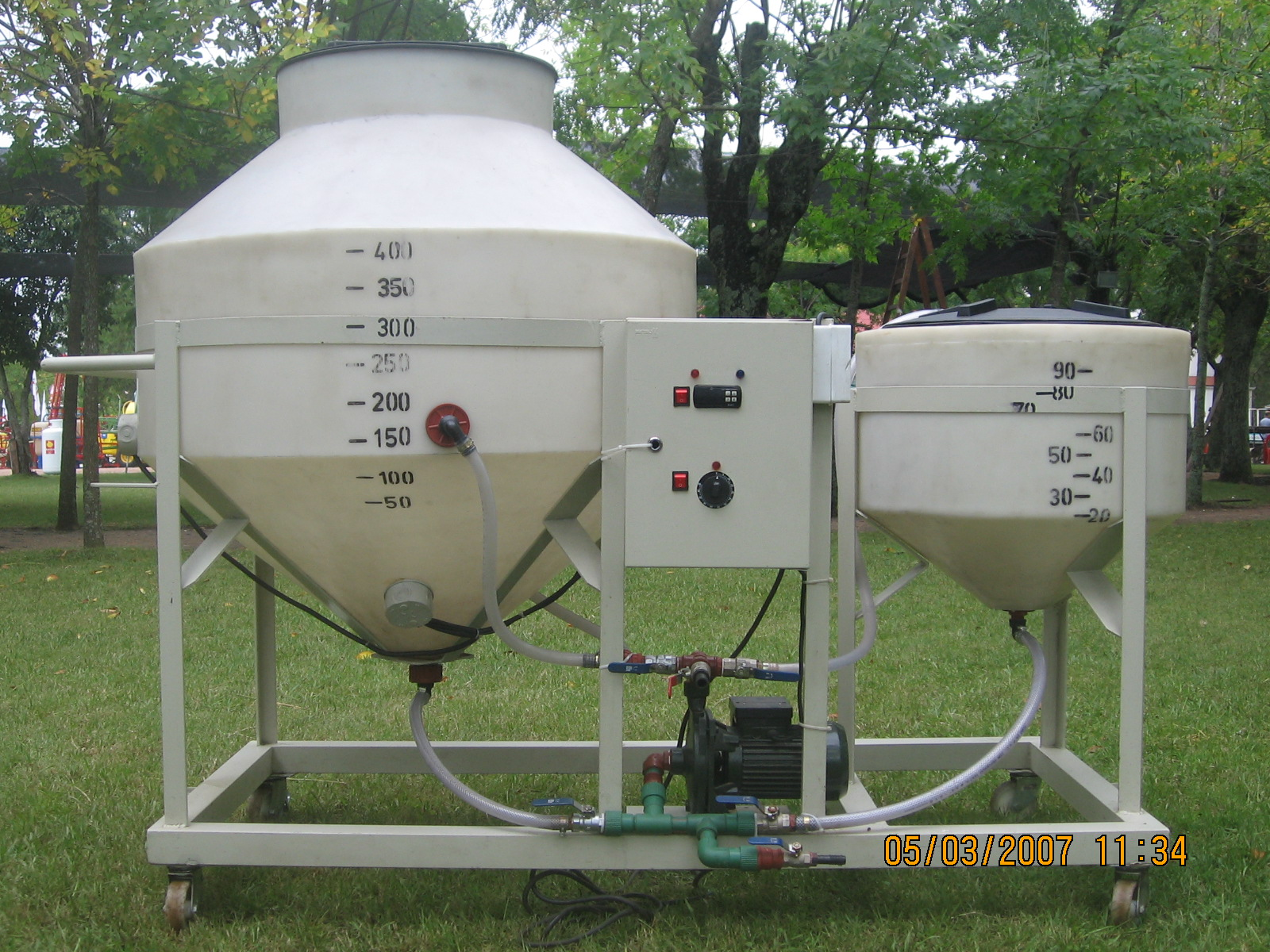Automated Biodiesel Processor