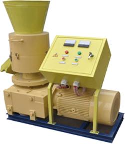 Rotating Roller Pellet Mill