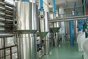 workshop of solvent extraction plant