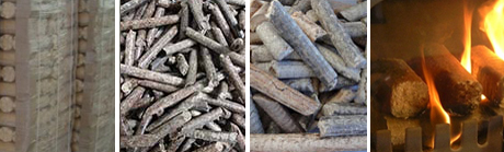final briquettes of briquettes machines