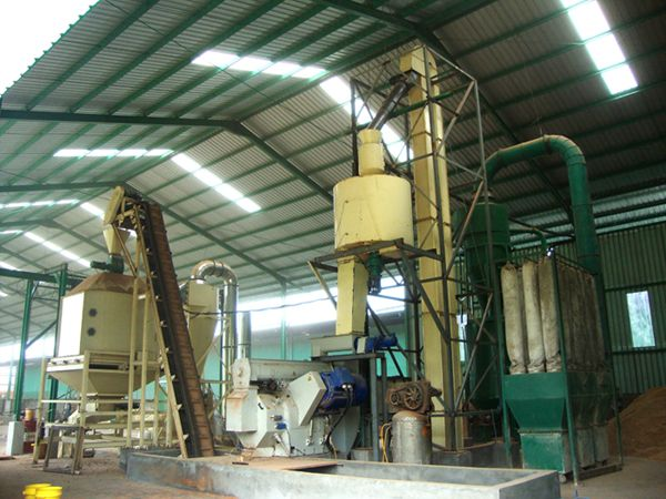 Our wood pellet plant project in indonesia