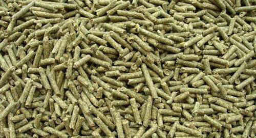 grass pellets for rabbits