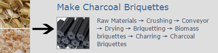 make charcoal briquettes