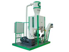 mobile pelleting plant