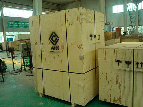 packaged oil mill for shipping