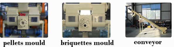 details of punching briquetting machine
