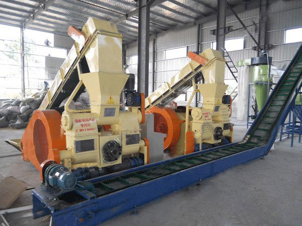 punching briquetting plant